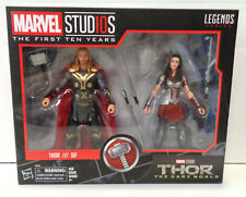 Marvel Legends MCU 10th Anniversary: Thor & Sif Action Figure Set (2018) New
