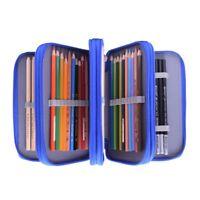 4 Layers 72 Pencil Case Bag Organizer Storage Large Capacity Pen Case Holder