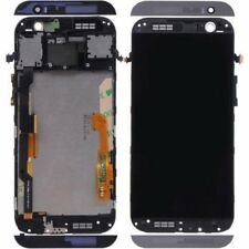 Black for HTC One M8 LCD Display Touch Screen Replacement Digitizer