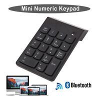 Wireless2.4G Mini USB 18 Keys Number Pad Numeric Keypad Keyboard For PC LaptopOF