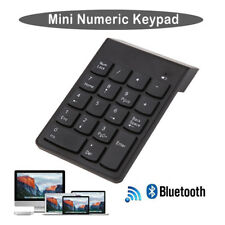Wireless Bluetooth Number Pad Numeric Keypad 18 Key Digital Keyboard forLaptopRS
