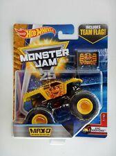 Maximum Destruction (Yellow) Monster Jam Truck (Hot Wheels)(2016)(Team Flag)