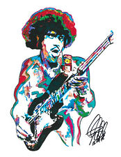 Phil Lynott Thin Lizzy Jailbreak Singer Rock Music Print Poster Wall Art 8.5x11