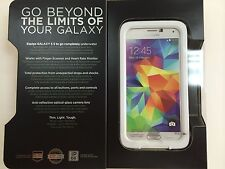 Lifeproof: Samsung Galaxy S5 - White/Gray 100% AUTHENTIC