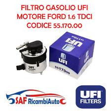 55.170.00 FILTRO GASOLIO UFI 1.6 TDCI FORD C-MAX FIESTA - FOCUS - MAZDA - VOLVO