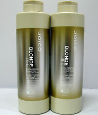 Joico Color Blonde Life Brightening Shampoo & Conditioner 33.8 oz Liter Set