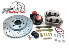 "63-87 C10 Front Big Brake Kit 14"" Rotor Corvette C5 Caliper, 67-72 73-87"