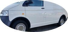 Vw Transporter T5 Black matt wheel arch trims 6 pcs fender & door kit '03-15 new