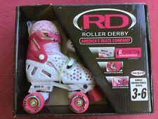 Roller Derby Trac Star Energy Flex Girl's Adjustable Roller Skate Sizes: 3-6 Nib