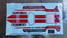 1:16 CHA CHA MULDOWNEY '72 MUSTANG DECALS | FREE DOMESTIC SHIPPING |