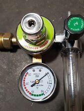 Druckminderer Argon Co2 Schutzgas mit Flowmeter Druckregler Gasflasche Regul Neu