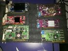 Lot of 6: AGP + PCI Video Graphics Cards, Nvidia + ATI UNTESTED, READ picture