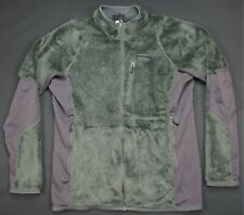 Rare Vintage PATAGONIA Deep Pile Sherpa Fleece Full Zip Jacket 90s Retro Gray XL