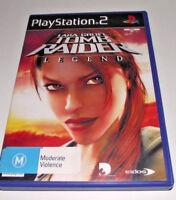 Lara Croft Tomb Raider Legend PS2 PAL *Complete*