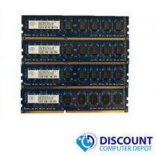 8GB KIT 4 x 2GB DDR3 1333Mhz PC3 10600u Intel Desktop DIMM Memory RAM 240 Pin