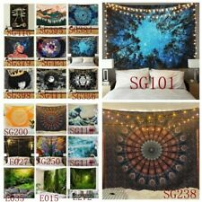 USA Trippy Psychedlic Mandala Tapestry Art Wall Hanging Blanket Home Decor Stock