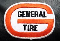 """GENERAL TIRE EMBROIDERED PATCH AUTOMOBILE ADVERTISING UNIFORM 3 1/2"""" x 2 1/4"""""""