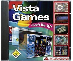 VISTA GAMES - Auch für XP! Ausgesuchte Spiele! (PC) - NEU & SOFORT