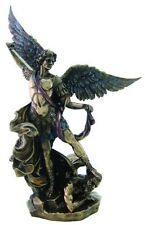 "10"" Inch Archangel Michael Statue Figurine Figure Religious San Saint Angel"