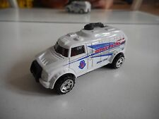 Matchbox Robot Truck Police Patrol in White