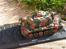 CHAR DE COMBAT 1/72  5 eme division germany  1985   IXO/ALTAYA NEUF/BO