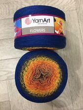 Yarn Art Flowers 2 X 250g Knitting Crochet Cake Yarn Super Fine Weight - YAF