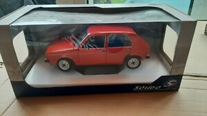 Solido 1:18 Scale Diecast S1800204 Volkswagen VW Golf MK1 L 1984 Mars Red BBS OZ
