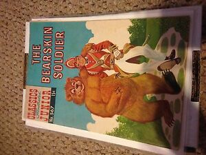 Dell Classic Illustrated Junior The BearSkin Soldier  # 567 comics Very Good VG