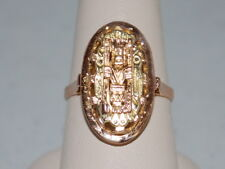 18k Gold ring with an Egyptian design