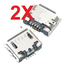 2X Nokia Lumia 710 T-Mobile Micro USB Charger Charging Port Dock Connector USA