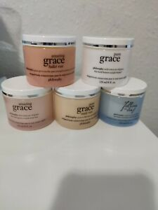 Amazing Grace Philosophy 5 tubs Whipped Body Creme 120ml