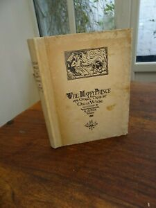 1910 THE HAPPY PRINCE AND OTHER TALES by OSCAR WILDE 3 PLTS by CRANE & HOOD  ^