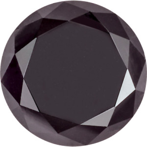 Natural Extra Fine Black Diamond 1-1,10mm 0.01 Ct - Round  AAA+ Grade