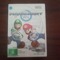 Nintendo Wii Mario Kart Game AUS PALVGC Booklet Case Disc Complete Tracked Post