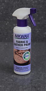 Nikwax Fabric & Leather Proof waterproofing Spray On 300ml Breathability