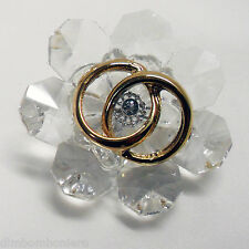 Bomboniera e scatola Icona matrimonio 50°anniversario stile cristallo swarovski