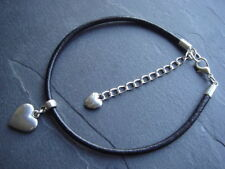 Handmade Leather Costume Anklets