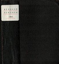 Missale Romanum, Ausgabe in Latein, H. Dessain succ. P.J. Hanicq, Mechelen 1866