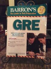 BARRONS GRE REVIEW BOOK SOFT COVER 18 EDITION