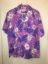Vintage New Horizon Aloha Shirt Size Large