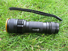 Mastiff Z3 Zoomable 3Watt 365 nm Ultra-violet Radys LED UV Lamp Flashlight Torch