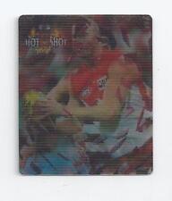 AFL card 2006 HOTSHOTS 3D Smashing TAZO, Barry Hall South Melbourne Swans VG/EX
