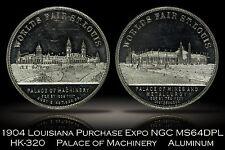 1904 LAPE Louisiana Purchase Expo Palace of Machinery HK-320 NGC MS64DPL Beauty