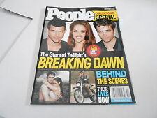 NOV 2011 PEOPLE magazine (NO LABEL) UNREAD - TWILIGHT BREAKING DAWN