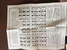 a4d original 1934 graphologist dubois handwriting assessment