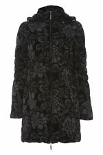 Polyester Floral Quilted Coats & Jackets for Women