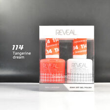 Reveal Gel Polish & Nail Lacquer Matching Duo #114 - Tangerine Dream