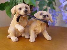 Golden labrador Pups Leonardo Collection Birthday Gift