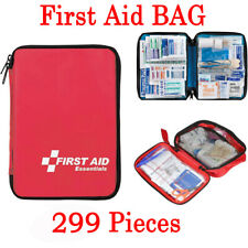 299PCS First Aid Kit All-Purpose Premium Medical Supplies and Emergency Bag USA