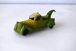 "Vintage Toby Toy Breakdown Truck Metal Masters Diecast truck England Old Gree""F5"